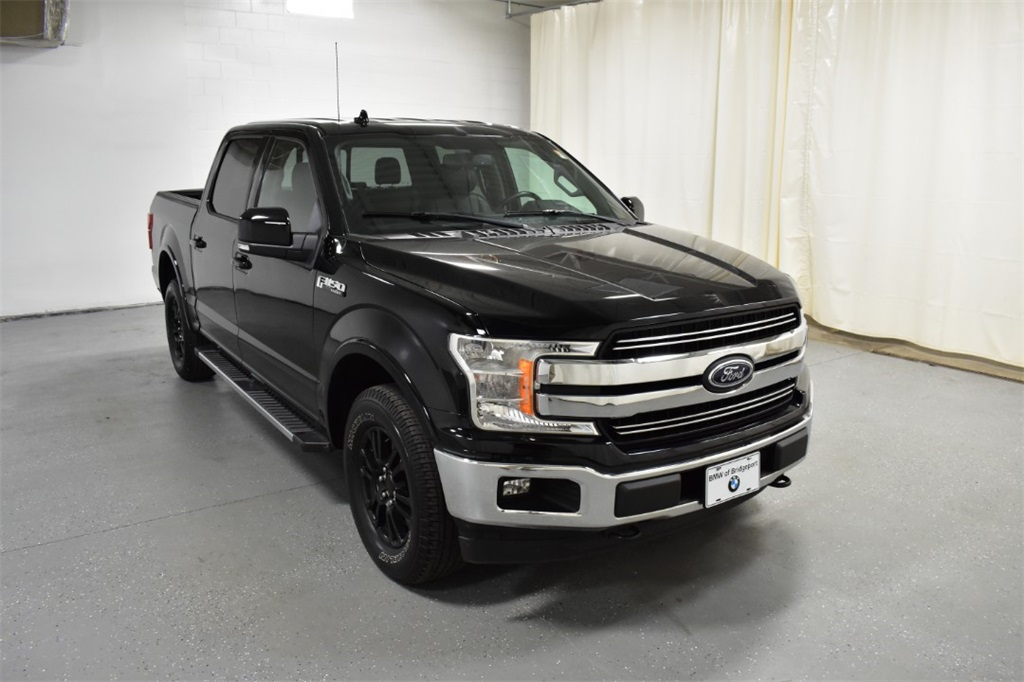 Pre-Owned 2018 Ford F-150 LARIAT 4WD SuperCrew 5.5' Box