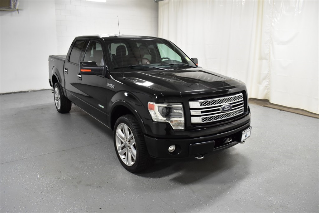 Pre-Owned 2013 Ford F-150 4WD SuperCrew 145 Limited