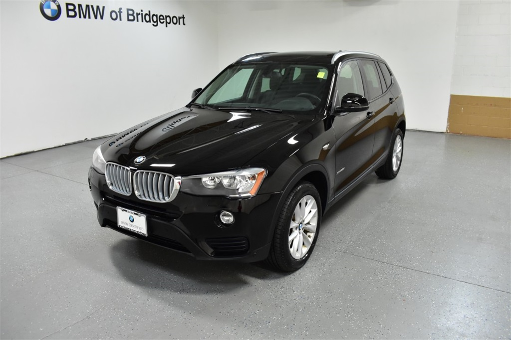 <center><b>Certified Pre-Owned 2017 BMW X3 xDrive28i</b></center>