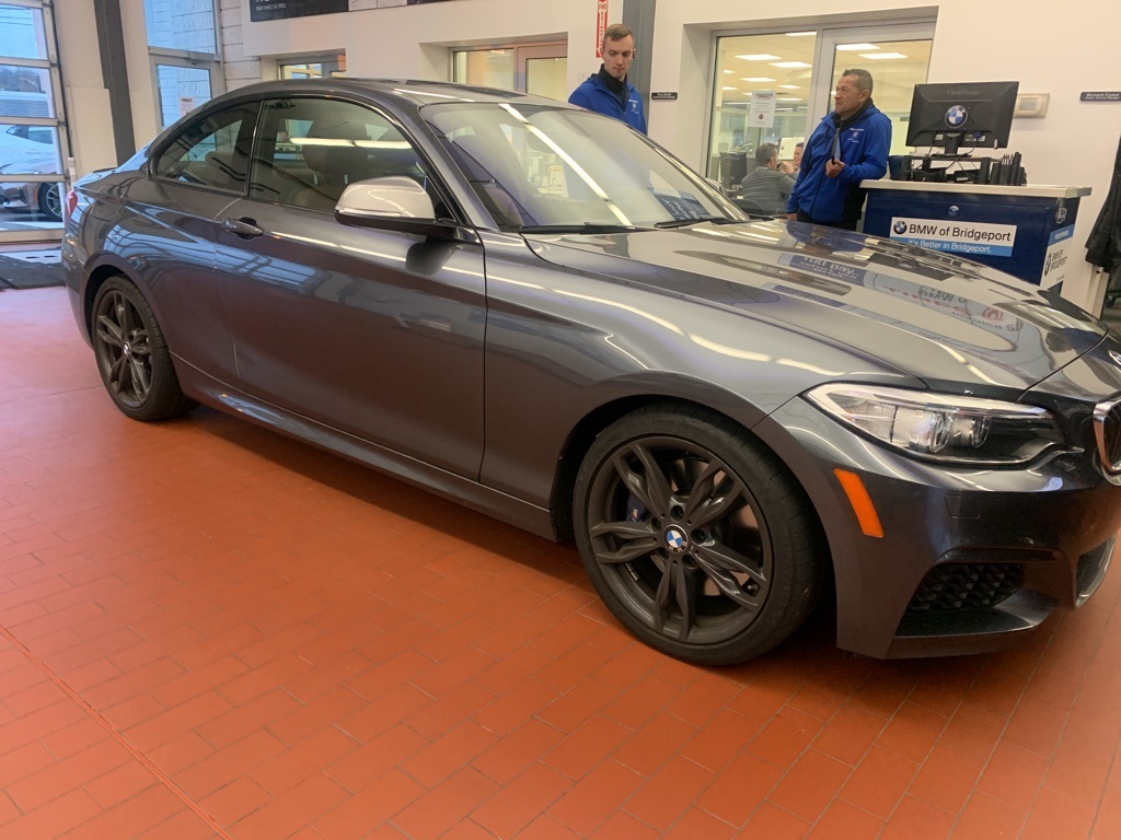 Certified Pre-Owned 2017 BMW 2 Series M240i Coupe