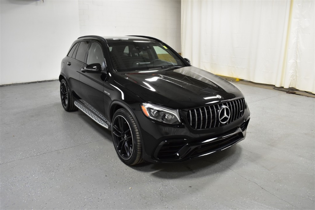 Pre-Owned 2018 Mercedes-Benz GLC AMG® GLC 63 4MATIC SUV
