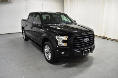 Pre-Owned 2017 Ford F-150 XL 4WD SuperCrew 5.5' Box