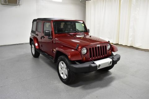 Pre-Owned 2009 Jeep Wrangler Unlimited 4WD 4dr Sahara